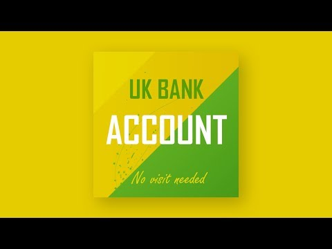 UK Bank account no visit needed