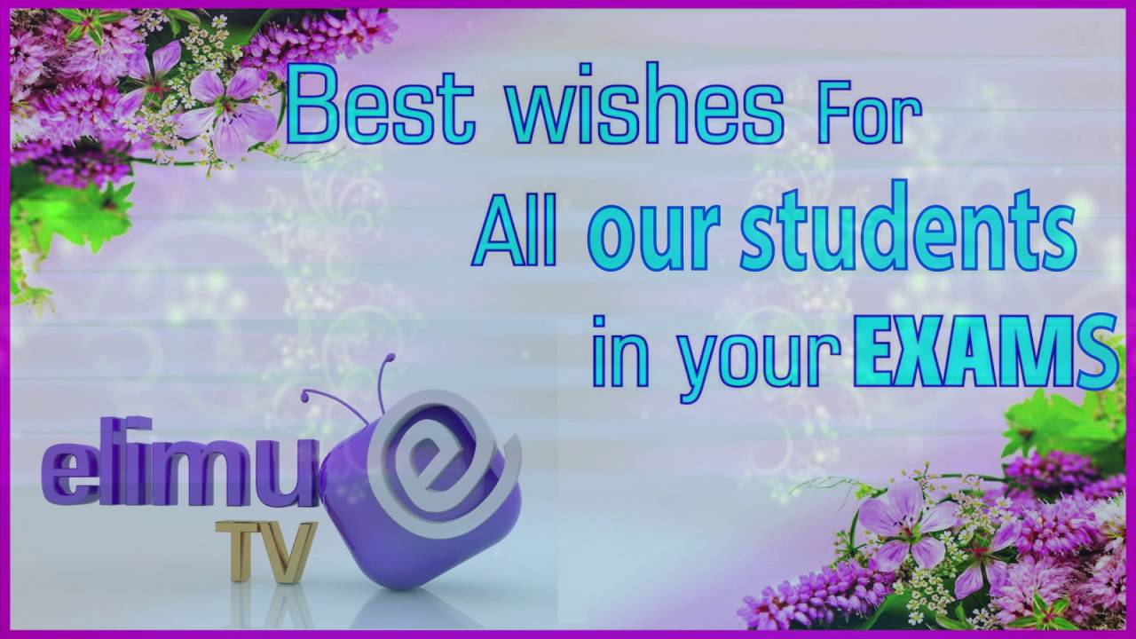 Exams success wishes to students youtube kristyandbryce Images