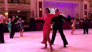 Ballroom Dancing Makeup - Blackpool Dance Competition Festival , England