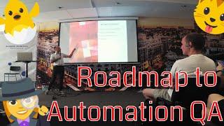 Как стать автоматизированным тестировщиком, roadmap на пути к AQA! Запись моего выступления