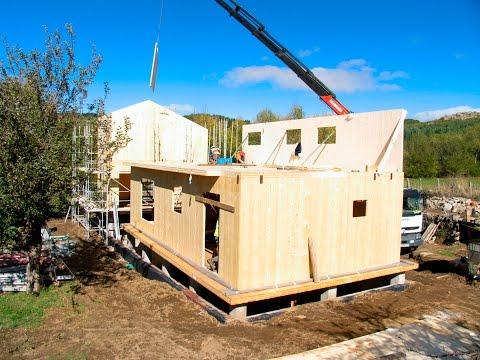 Construcción de una vivienda en CLT. Sierra de Gredos
