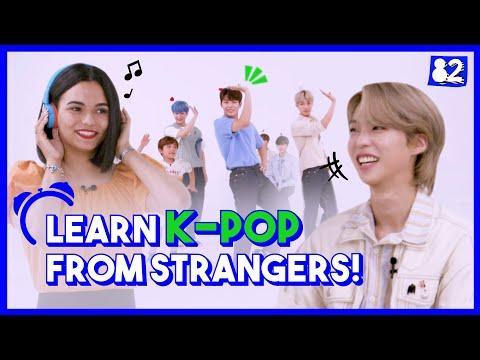 (CC) K-pop Idols Vs. STRANGERS I Time To K-pop W/ GHOST9