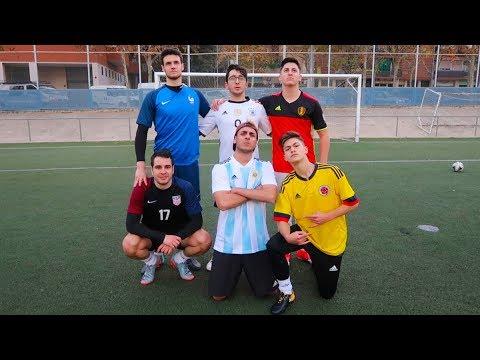 1vs1 SKILL CHALLENGE CON LA ÉLITE | Retos de fútbol