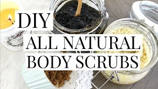 DIY: All Natural Body Sugar Scrubs | Kendra Atkins