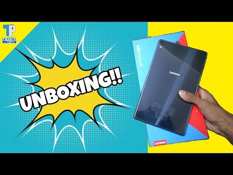 [HINDI]Lenovo Tab 4 8 PLUS | Unboxing and First Look | Fingerprint & much more !!!