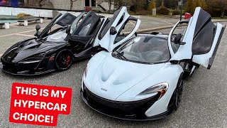 MY FIRST HYPERCAR WILL BE ONE OF THESE 2 CARS! *McLaren P1 & Senna*