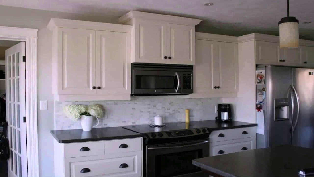 Kitchen Ideas With White Cabinets And Black Countertops Youtube