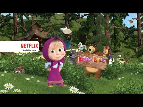 Masha and the Bear - Official Trailer - Netflix [HD]