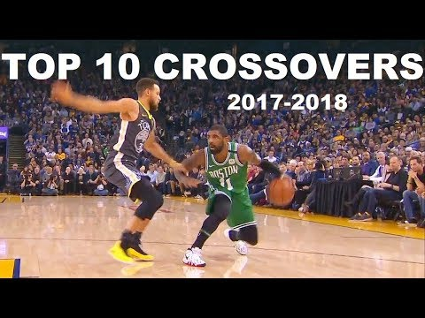 NBA TOP 10 CROSSOVERS 2017-2018 SEASON (With Music)