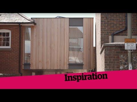 A Cantilevered Timber Extension
