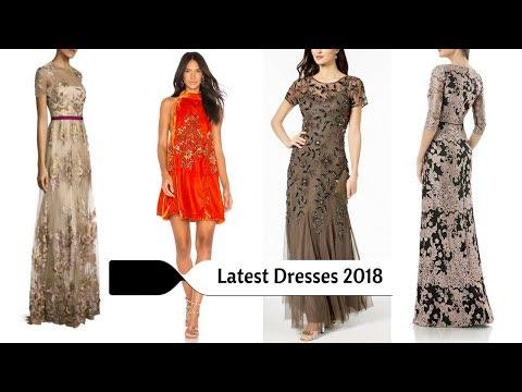 Latest Dresses Designs 2018-2019