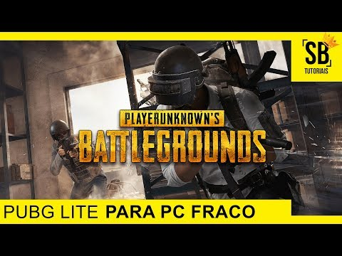 PUBG Lite PC FRACO! Como BAIXAR E INSTALAR PUBG Lite Para PC MUITO FRACO