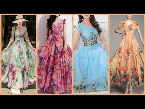 Outstanding Floral Print Maxi Dress Collection 2019
