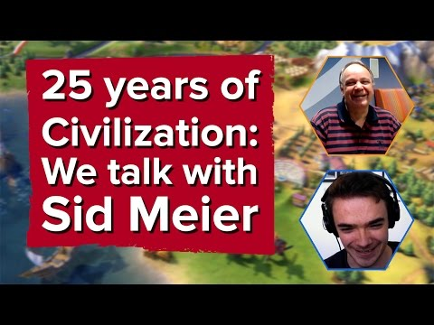 25 years of Civilization: We talk with Sid Meier