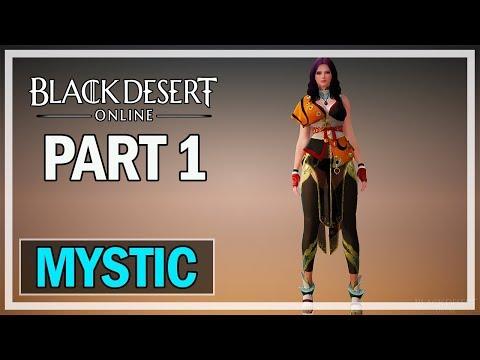 Black Desert Online - Mystic Let's Play Part 1 - The Beginning
