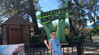Just Julie goes to Six Flags!