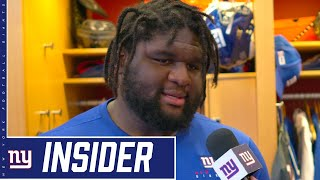 Dalvin Tomlinson Talks D-Line Camaraderie | New York Giants