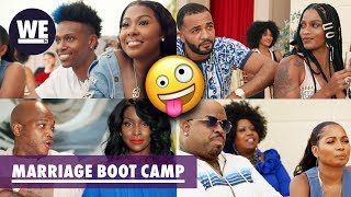 Which Couple Is the Most TURNT Up!? | Marriage Boot Camp: Hip Hop Edition