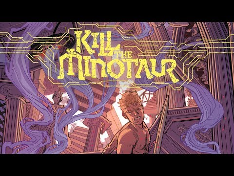 Live Drawing & Greek Myths with the Team of Kill The Minotaur!! - SDCC 2017