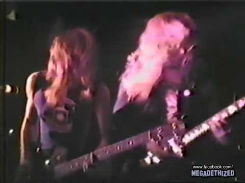 Megadeth - Live In Detroit 1986 [Full Concert] /mG