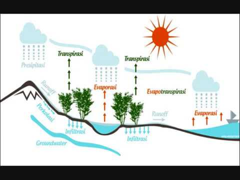Siklus Hidrologi Hydrology Cycle Youtube
