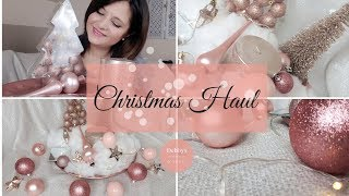 Weihnachtsdeko Haul 2018|Christmas Haul 2018|
