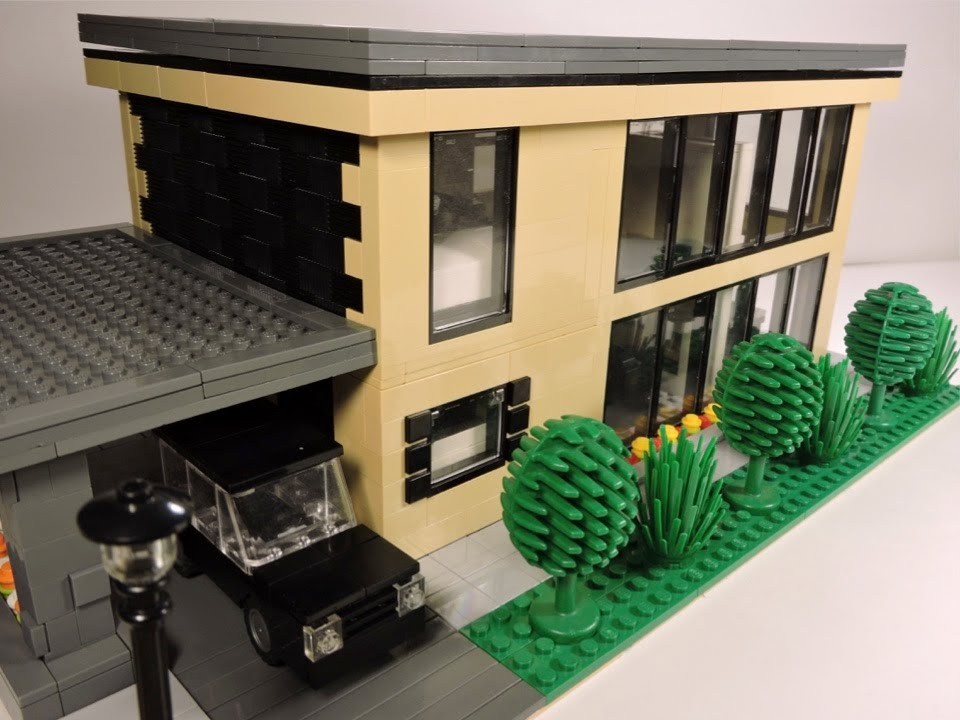 Lego Modern House Moc Youtube
