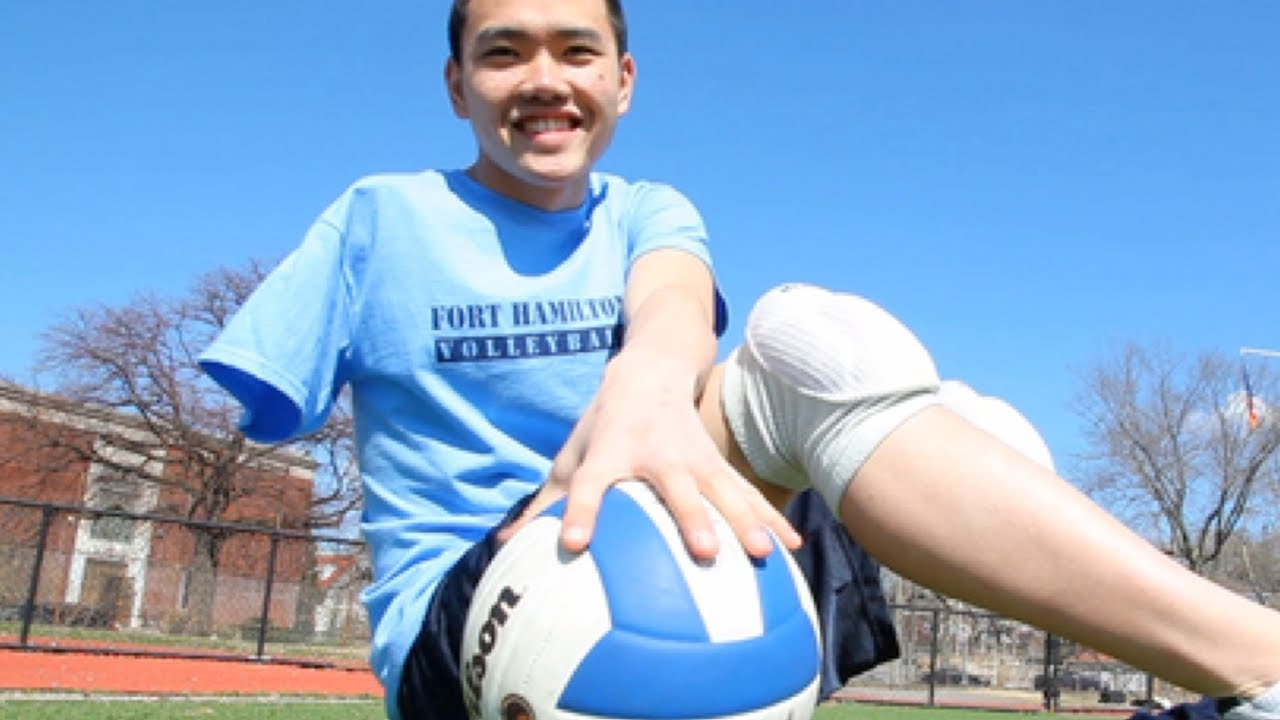 one armed volleyball player new york post youtube