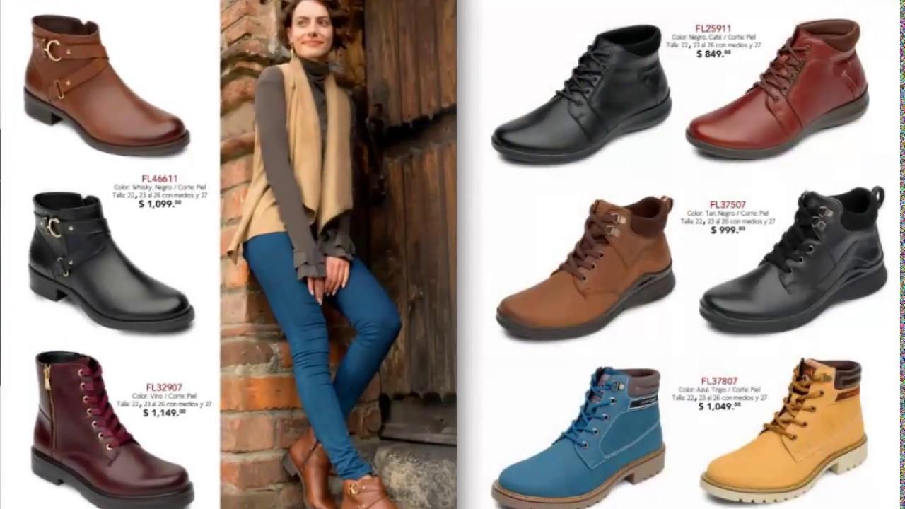 2b1aa89ec7b Nuevo catalogo zapatos Flexi Mexico 2018 Otoño Invierno - YouTube