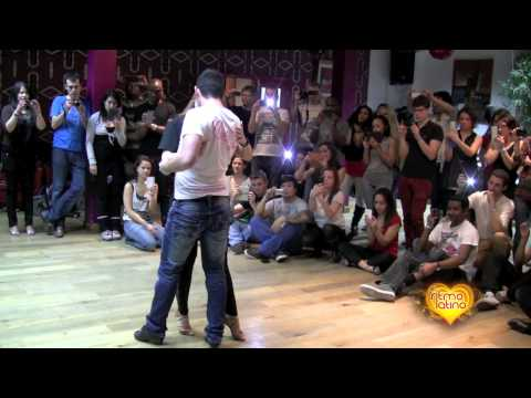 Daniel y Desireé @BSBB Londres , Bachata Feeling workshop