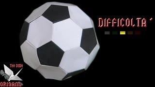 [ORIGAMI ITA] Pallone Da Calcio (Mark Leonard) || Speciale Mondiali 2014/Origami Giocattolo