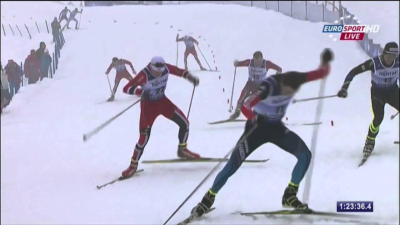 Men's 15km Cross-Country Skiing Val di Fiemme en Italie