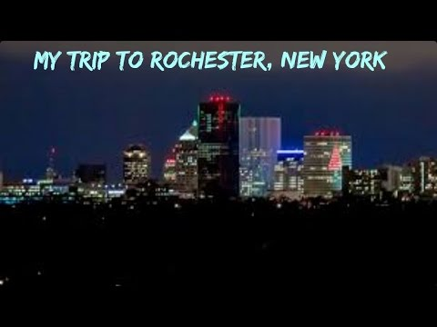 ROCHESTER, NEW YORK TRAVEL DIARY |MIKAYLA JOHNSON