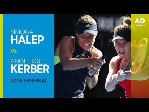 AO Classics: Simona Halep v Angelique Kerber (2018 SF) Mp3