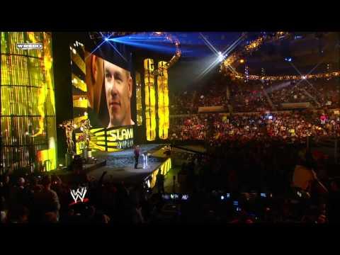 Raw - 2011 Game Changer of the Year Slammy Award presentation