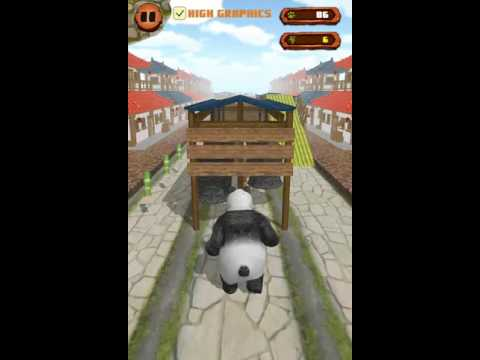 Panda Runner - Jump & Run Far - Android gameplay GamePlayTV