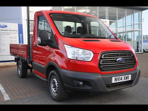Ford Transit Wagon >> Used Ford Transit Chassis Cab 2.2 TDCi 100ps Chassis Cab Red 2014 - YouTube