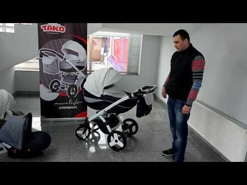 Видео Обзор детской Коляски Tako Moonlight Carbon
