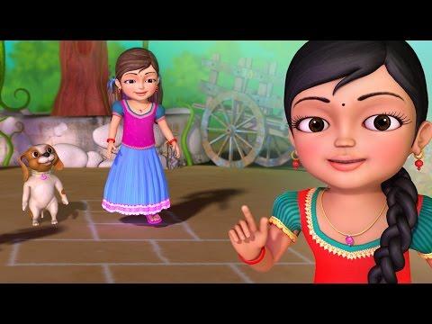 நொண்டி ஆட்டம்   Tamil Rhymes for Children   Infobells