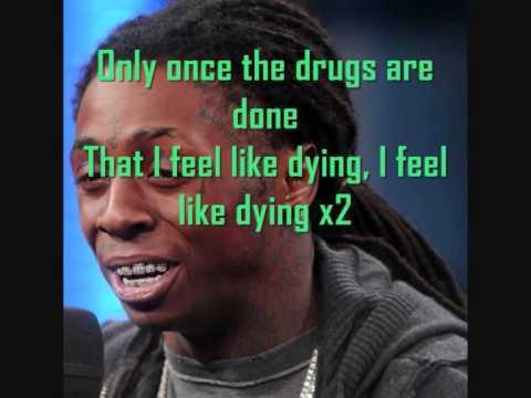 Lil Wayne  I Feel Like Dying Karaoke version