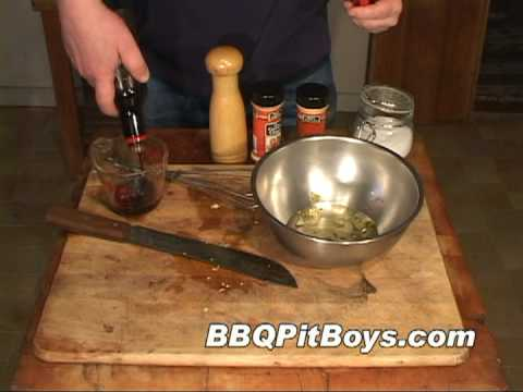Barbecue Mop and Marinade by the BBQ Pit Boys