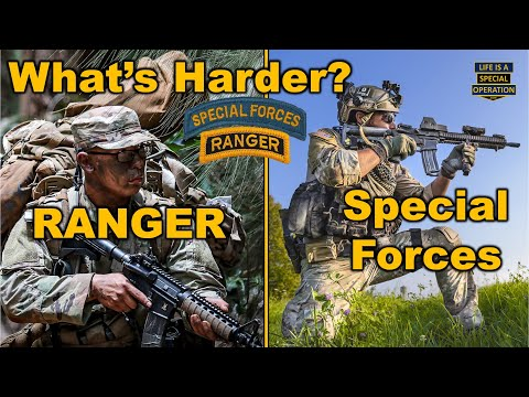 What's Harder - Ranger School or the Special Forces Qualification Course?