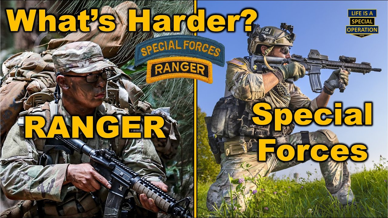 what s harder ranger school or the special forces qualification