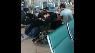 被迫滞留西伯利亚机场 吉尔吉斯斯坦公民绝食抗议