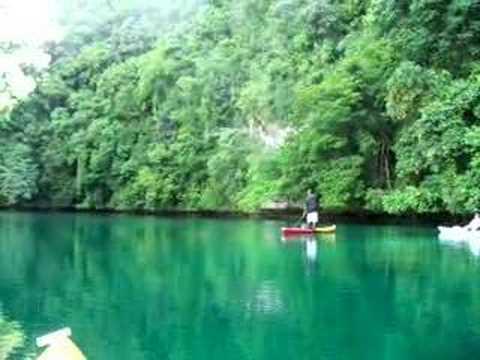 sounds of Palau Jungle paddle boating