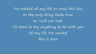 True - Ryan Cabrera Cover (with lyrics)