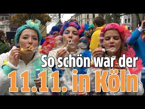 11.11. in Köln: So schön war der Sessionsauftakt 2017