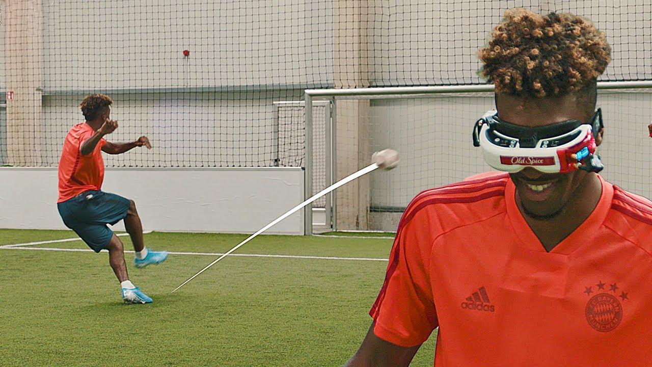 Download FC Bayern vs freekickerz | Crazy Challenge feat. Coman, Davies & Martinez