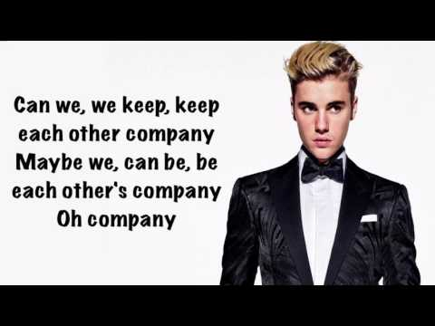 Justin Bieber - Company (Official Lyrics)