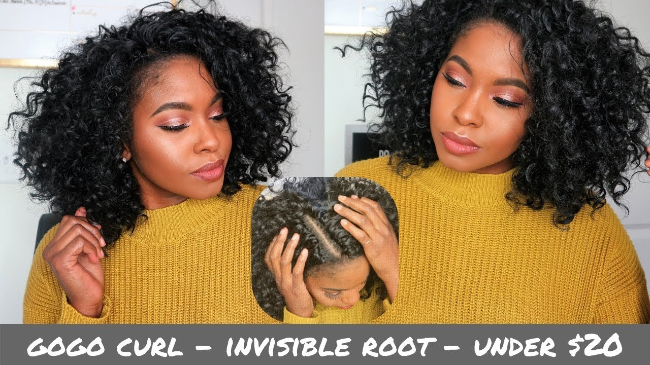 Gogo Curl Crochet Install + Review || Invisible Root || Under $25
